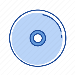cd, disc, dvd, movie icon