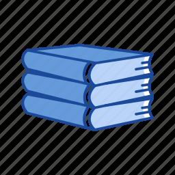 books, read, school, study icon