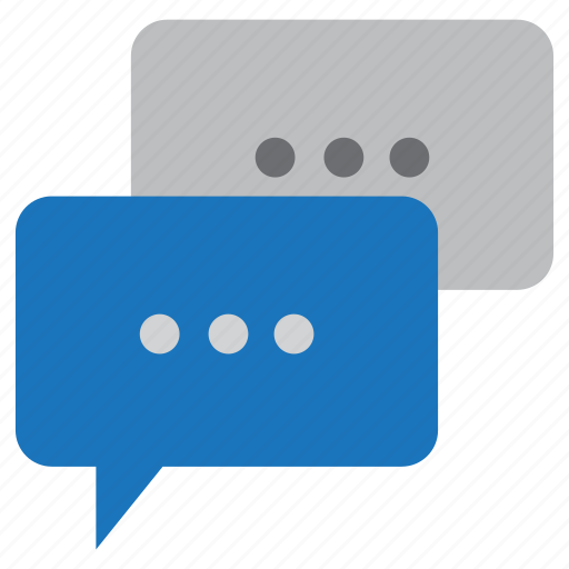 Communication, message, chat icon