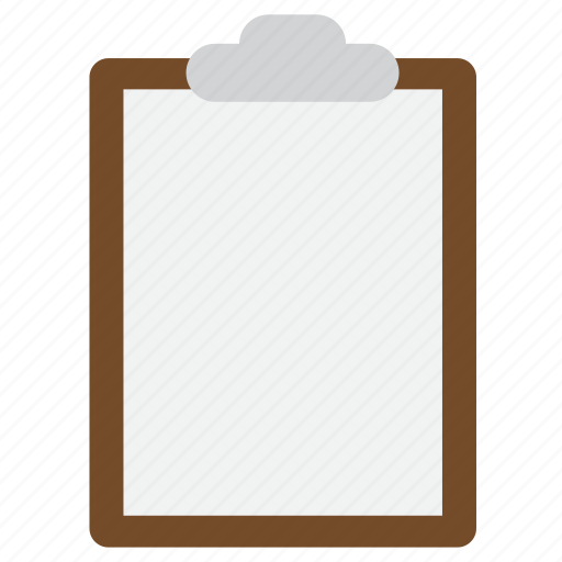 clipboard, document, note icon