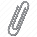 attachment, paperclip icon