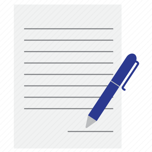 Letter, note, pen, sign icon - Download on Iconfinder