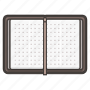 book, notebook, notes icon