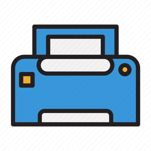 business, document, office, print, printer icon