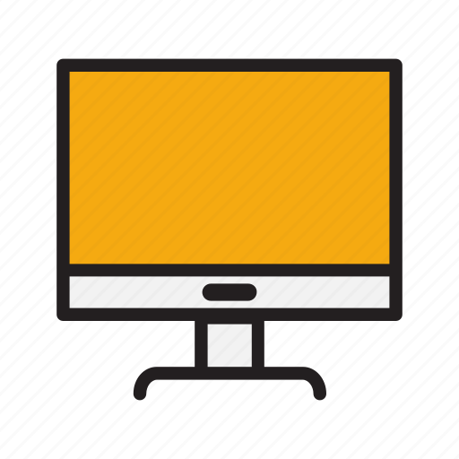 business, computer, document, monitor, office icon
