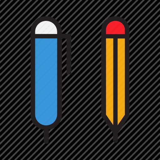 business, document, office, pen, pencil icon