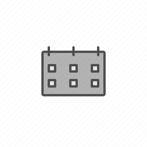 bussines, calender, office, tools icon