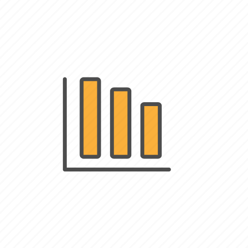 diagram, growth, office, presentation, tools icon
