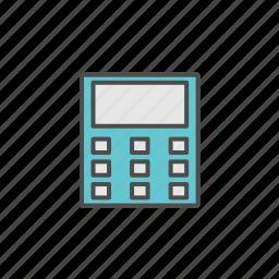 calculator, office, tools icon
