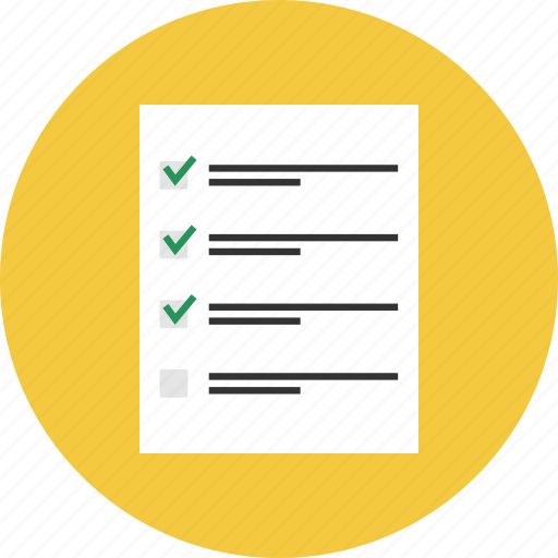 audit, exam, report, research, survey, tesing icon