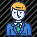 employer, manager, businessman, smart