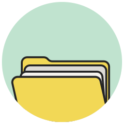 brief, case, directory, document, files, folder, portfolio icon