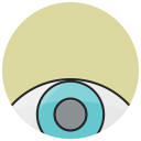 eye, look, visibility, visible, vision, watch, watching icon