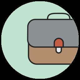 bag, baggage, brief, briefcase, business, career, case icon