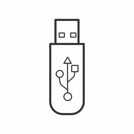 flash, memory, stick, usb, usb drive, usb memory, usb stick icon