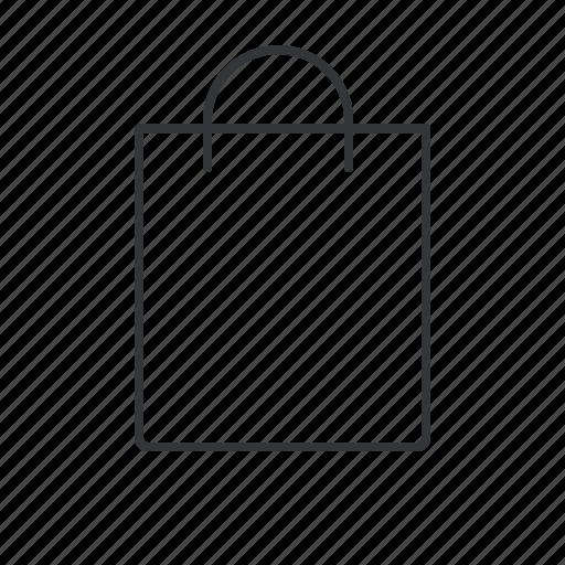 bag, gift bag, paper bag, paperbag, shop, shopping, shopping bag icon