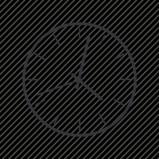 alarm, alert, clock, schedule, time, wait, watch icon
