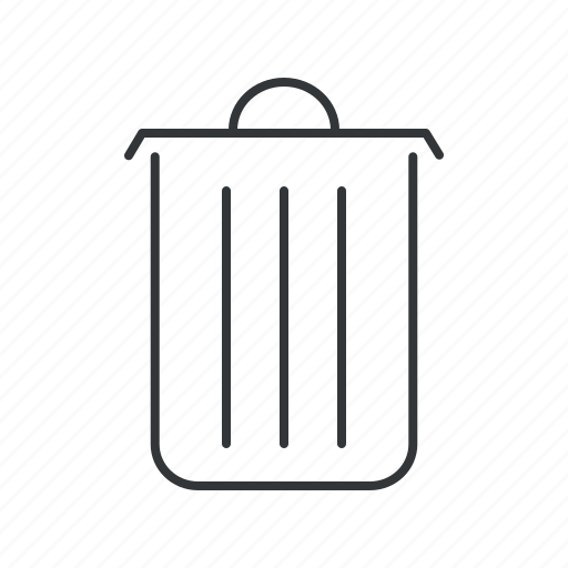 Bin, cancel, delete, garbage, recycle, remove, trash icon - Download on Iconfinder