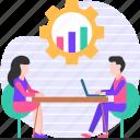 performance, meeting, analysis, people, business, job