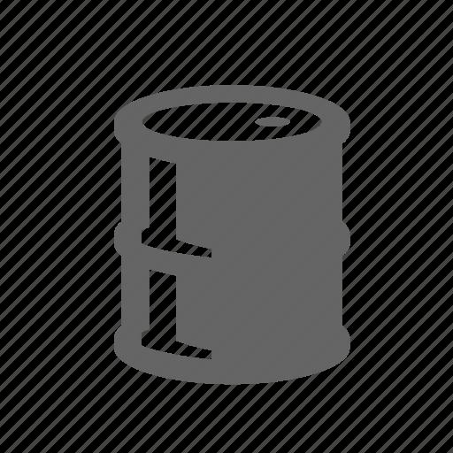 barrel, cask, fuel, gasoline, oil, petrol, tank icon