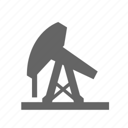 energy, extract, industry, oil, petrol, pump, sway icon