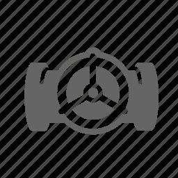 conduit, energy, manifold, oil, pipeline, valve icon