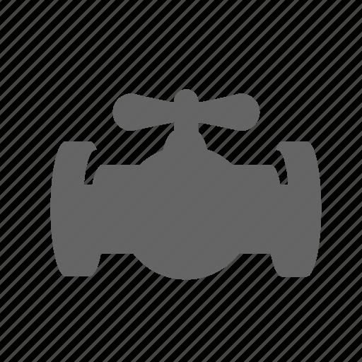 fuel, gasoline, oil, petrol, pipe, piping, valve icon