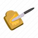 butter, creamy, dairy, food, knife, product, sandwich