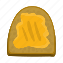 bread, butter, cooking, food, sandwich