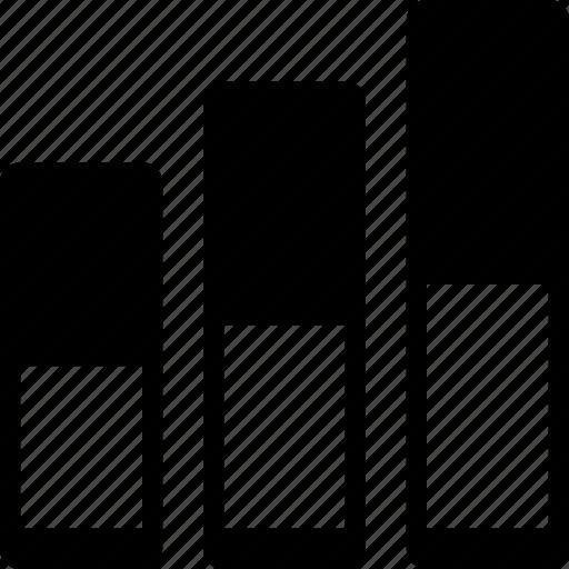 barchart, progress, status icon