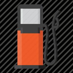 gas, gasoline, oil, transportation icon