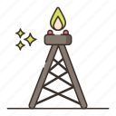 drilling, building, rig, tool, construction icon