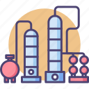 chamber, distillation, distillery icon