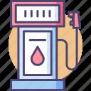 fuel, gas, gas station, petrol, petrol station, station icon