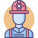 construction, construction worker, contractor, employee, staff, subcontractor, worker icon
