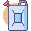 fuel, gas, jerrycan, oil, petrol icon
