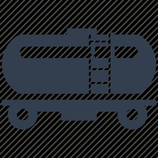 industry, oil, petrol, reservoir, storage, tank, tanker, transportation icon