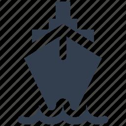 boat, business, cruise, nautical, ship, tanker, titanic, transportation icon