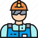 builder, engineer, gas, industrial, miner, oil, worker