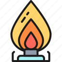 burner, fuel, gas, oil, pump, station, stove icon