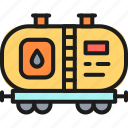 car, fuel, gas, oil, petroleum, tank, wagon