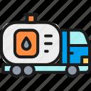 car, fuel, oil, tank, transfer, truck, water