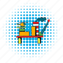 pipe, industrial, comics, industry, refinery, production, fuel icon