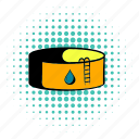 comics, fuel, gas, industry, oil, storage, tank icon