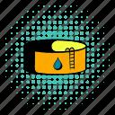oil, tank, comics, gas, industry, storage, fuel icon