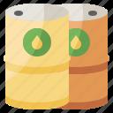 barrel, gas, oil, petrol, petroleum icon