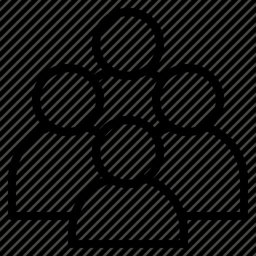 community, company, customer, human, organization, people, users icon