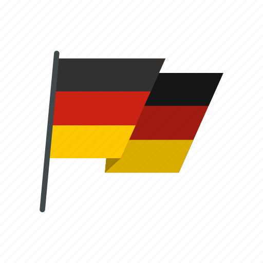 country, flag, german, germany, national, patriotism, pole icon