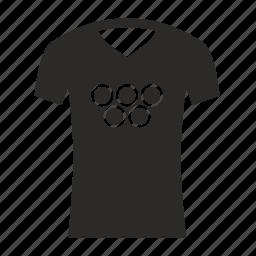 games, olympic, tshirt icon