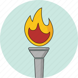 fire, icons, olympic, olympics, olympics2016, torch icon